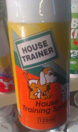 House Training Spray